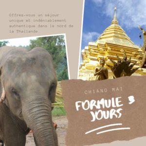 Excursion à Chiang Mai 3 jours
