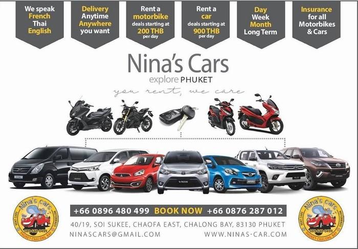Nina's car phuket