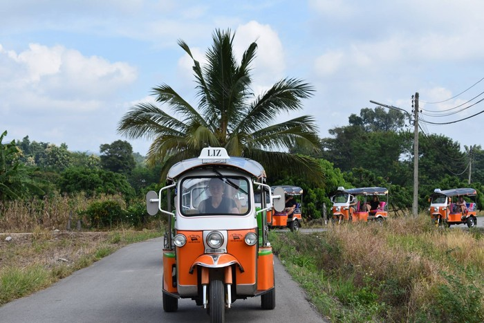 Tuk tuk à Chiang Mai 2